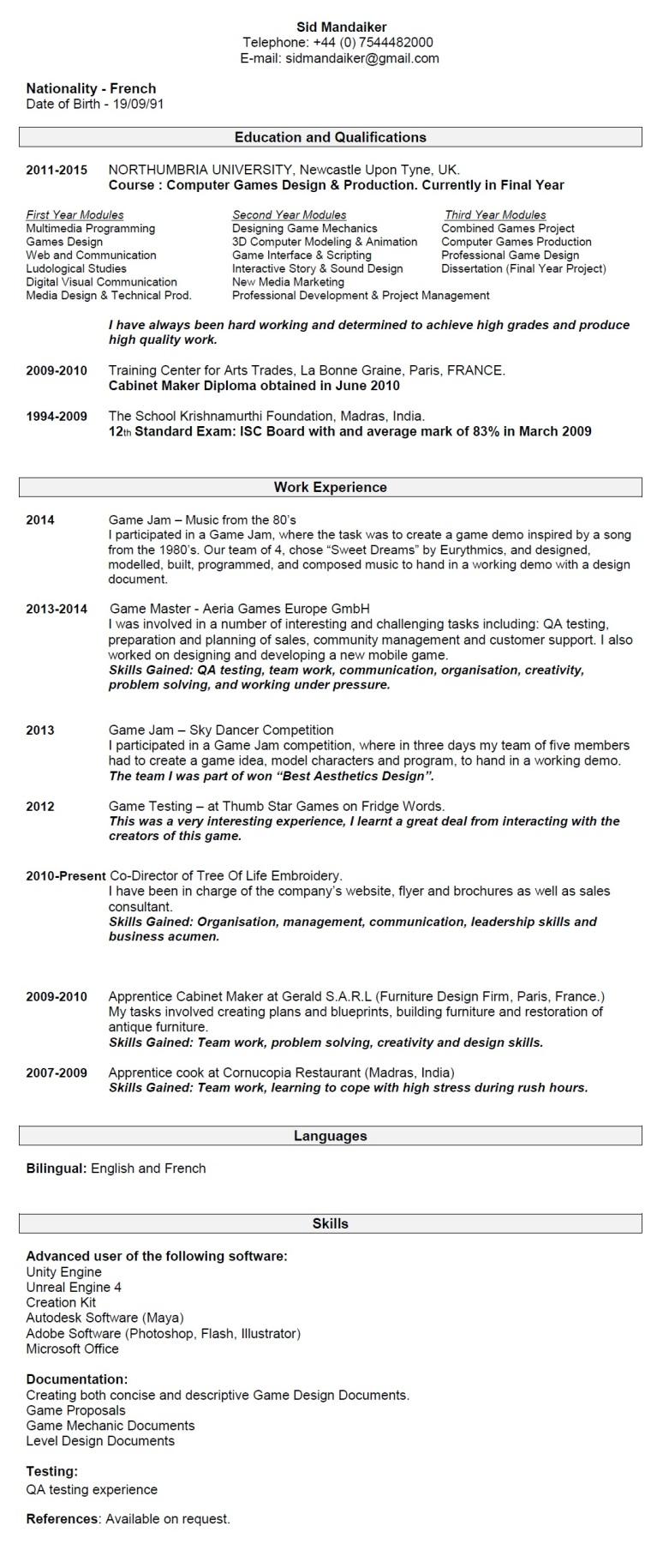 sample customer service resume web developer resume sample